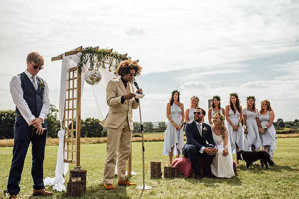 A Cotswold Field of Dreams ceremony