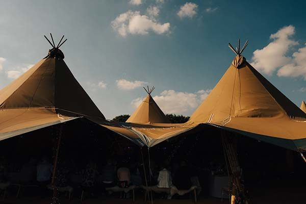 Natural Tent Company Tipi wedding