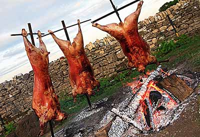 Asado by the Cotswold Cooks